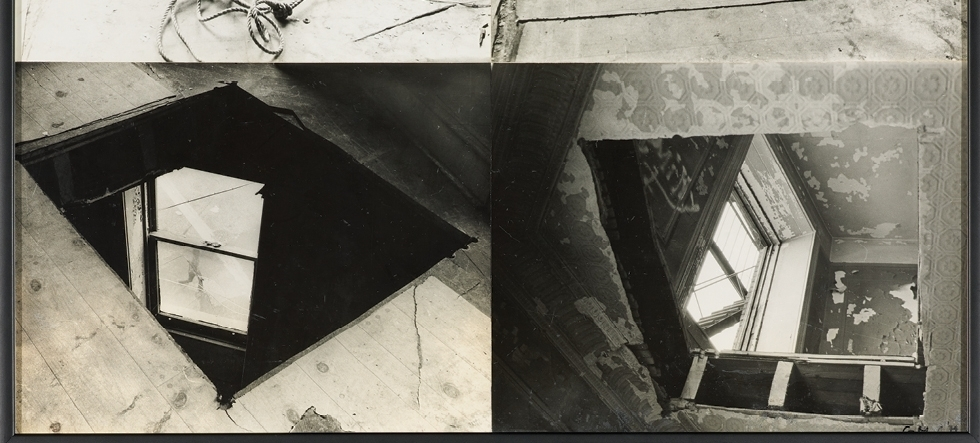 SPLITTING, CUTTING, WRITING, DRAWING, EATING… GORDON MATTA-CLARK