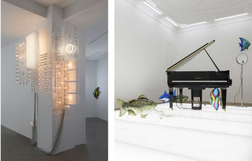 Quasi Objects: Marquee (cluster). Disklavier Piano. My Room is a Fish Bowl, 2014
